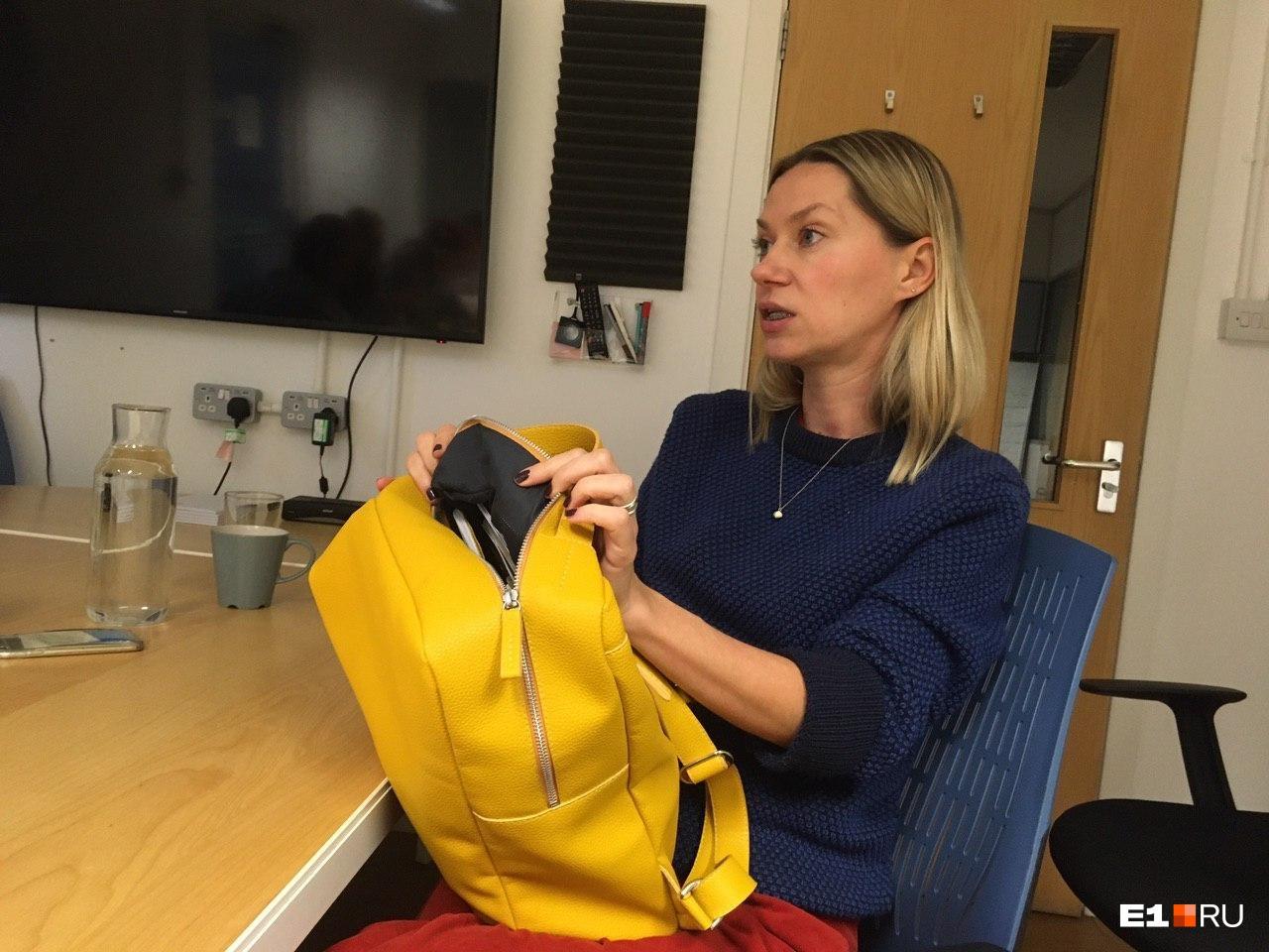 Евгения Минеева придумала делать сумки из переработанных отходов кожевенного производства