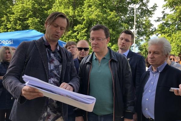 Виталий Стадников (слева) сотрудничает с Дмитрием Азаровым еще с тех пор, как тот был мэром Самары