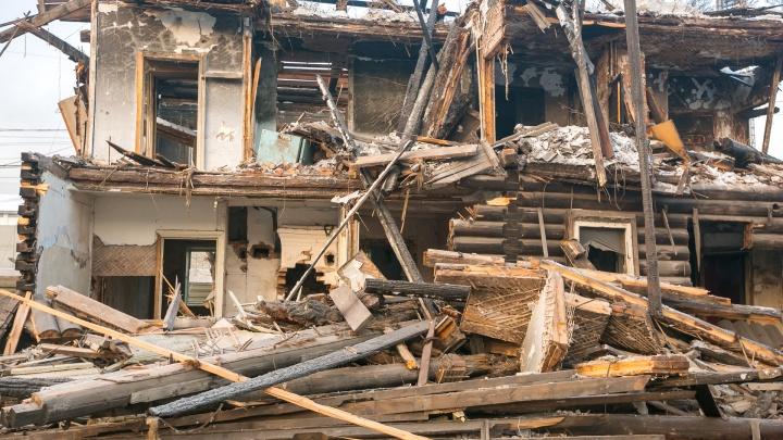 «Будет дом 5 этажей»: вице-мэр рассказал о строительстве у «Локомотива» на месте исторических домов