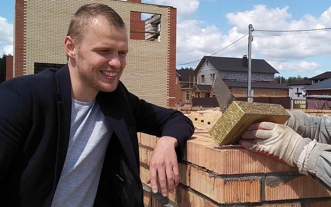 Впервые в Ярославле: в городе строится дом из золота