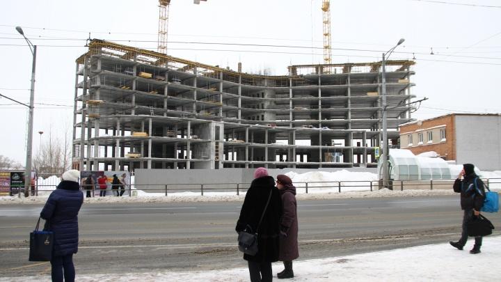 Стало известно, что строят на территории бывшего подшипникового завода на Московском шоссе