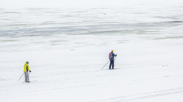 Стало известно, когда Волга освободится ото льда у Самары и Тольятти