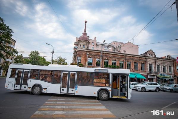 Автобусы будут курсировать до площади Гагарина и старого автовокзала