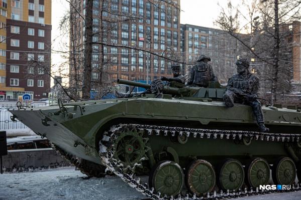 Этот памятник был задуман как дань памяти бесстрашию военнослужащих<br><br>&nbsp;