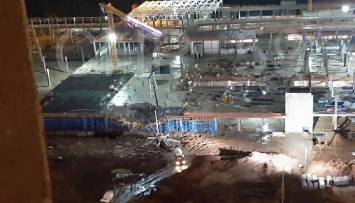 «Из-за сильных дождей покосилась опалубка»: Застройщик «Планеты» объяснил обрушение на стройке