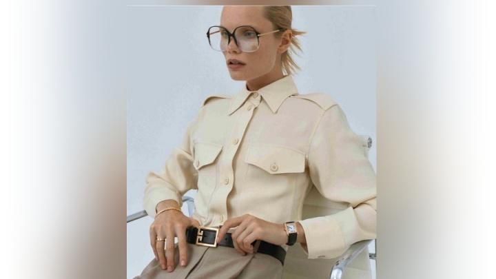 Популярная рыжеволосая модель из Красноярска снялась для журнала Vogue