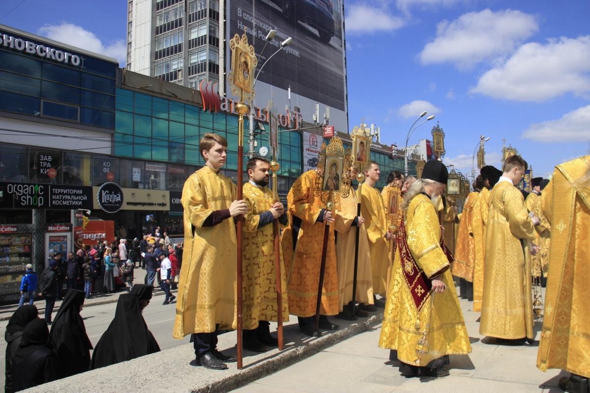 У часовни Святого Николая состоялся молебен