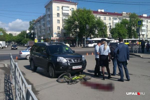 Авария потрясла весь город