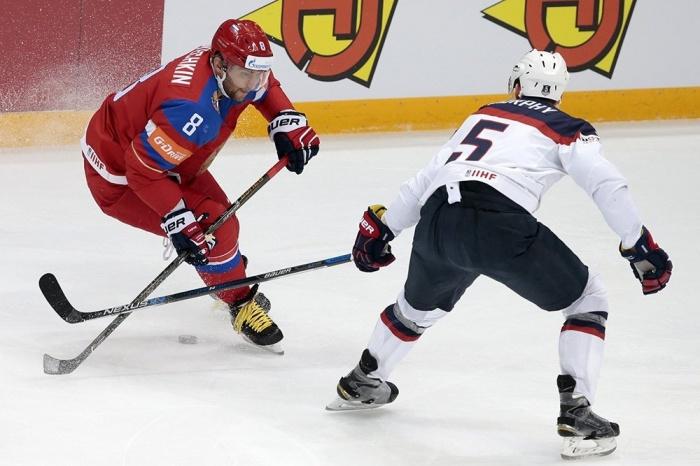 Россия обыграла США со счётом 4:3