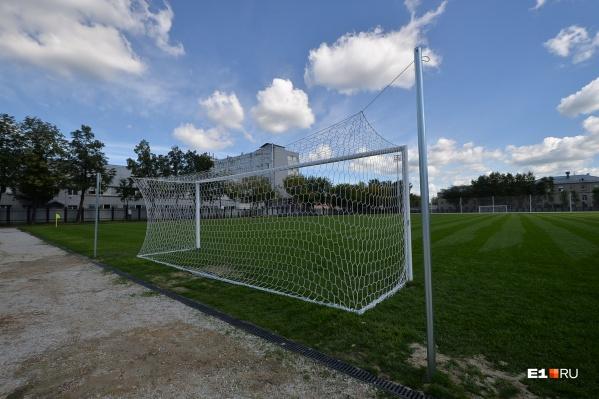 Футбольную школу Уральской академии открыли совсем недавно