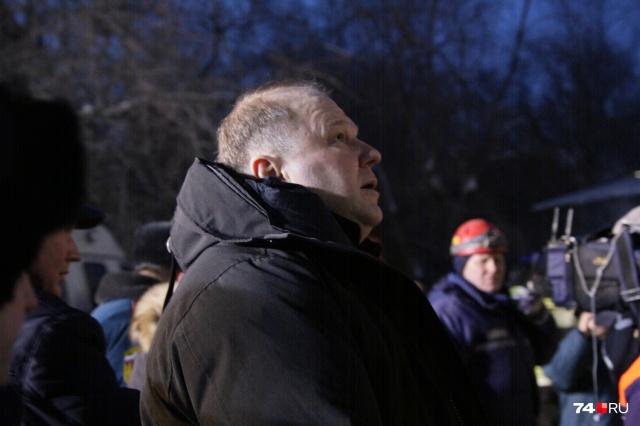 Полпред президента Николай Цуканов оценивает масштаб трагедии