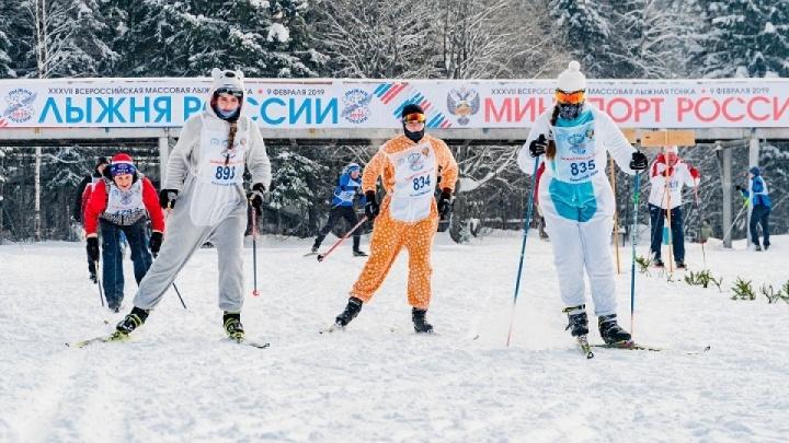 На «Лыжню России» в Перми пустят бесплатные автобусы, а движение автомобилей ограничат