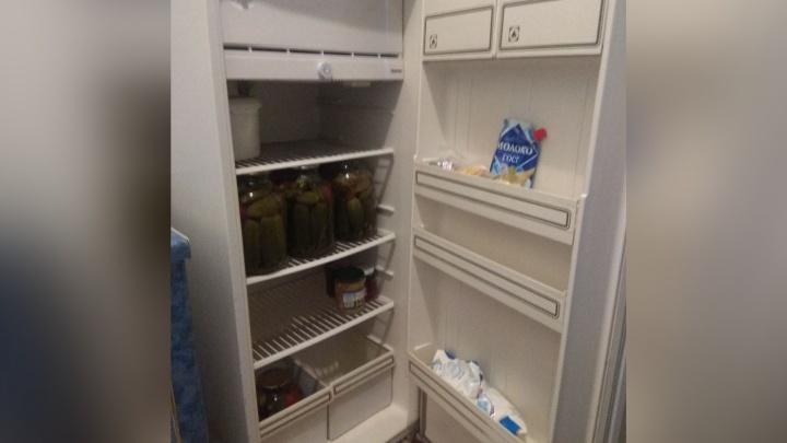 Оставшейся без средств к существованию 84-летней бабушке купили холодильник