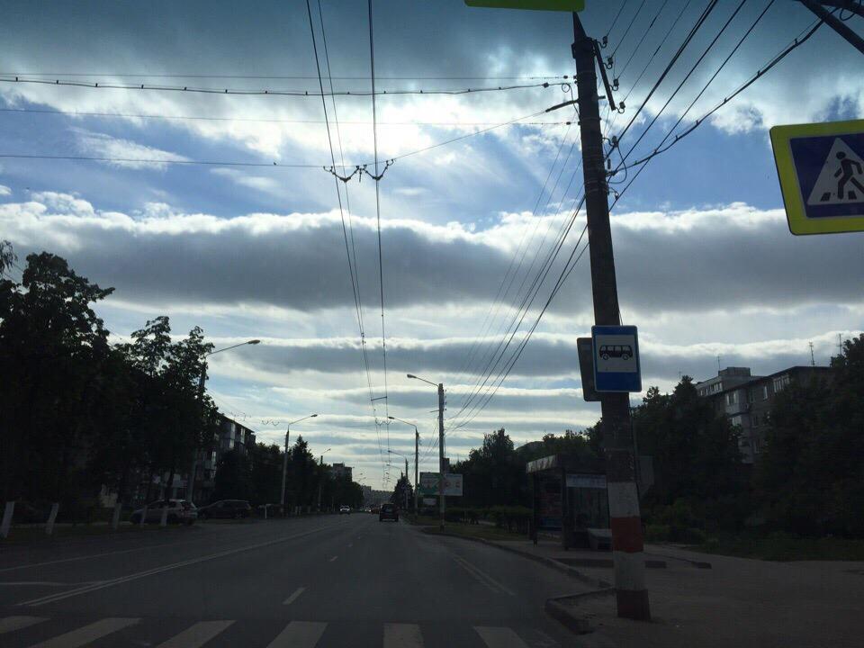 Кажется, что облака всего в паре сотне метров от земли