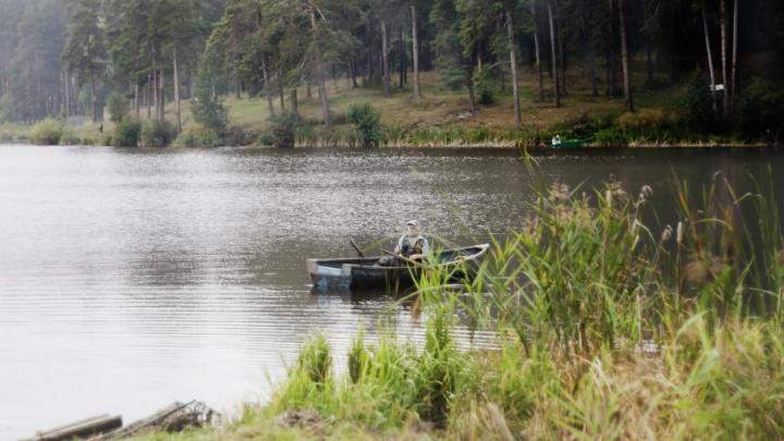 Во время тушения пожара в лесу Щучанского района нашли труп рыбака
