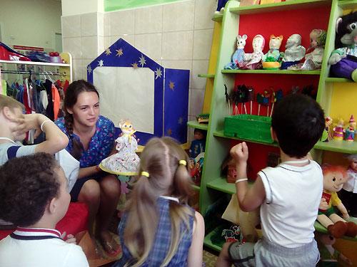 В детсаду № 49 стали лечить и воспитывать детей сказками