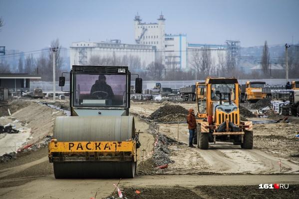 В Ростове построят новые дороги