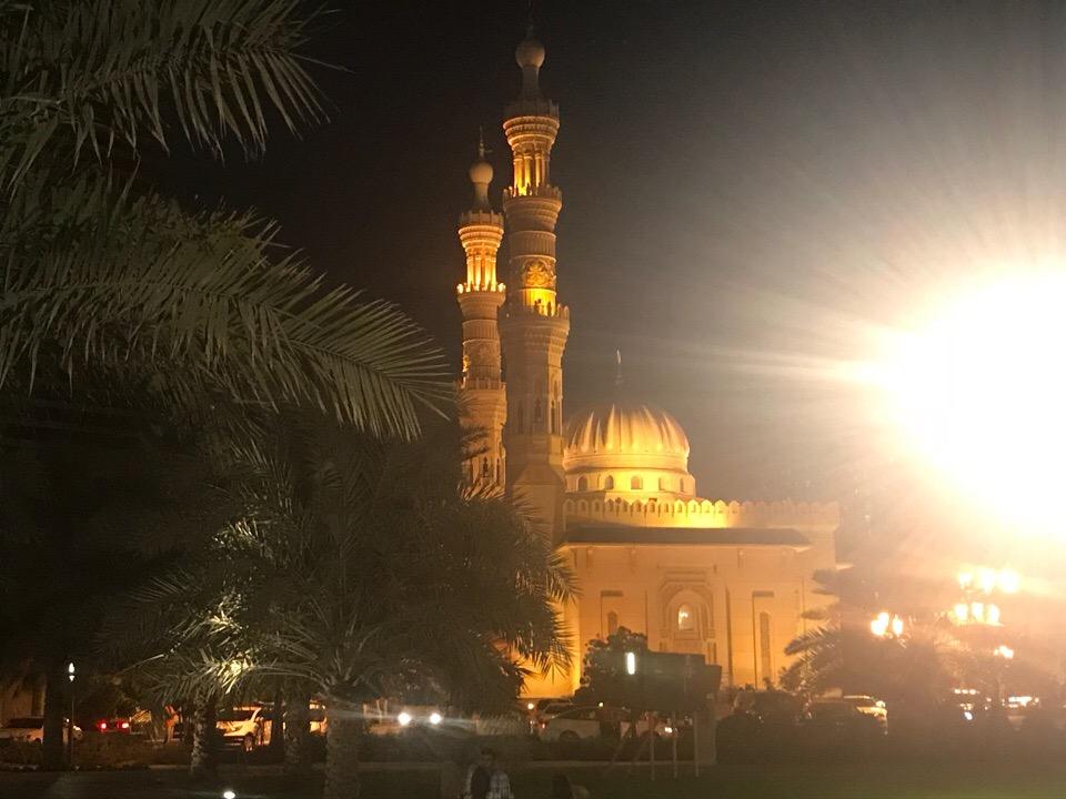 Арабские Эмираты известны красотой мечетей
