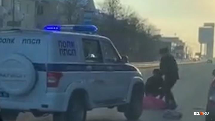 На Уралмаше сбили 13-летнюю девочку, которая возвращалась из школыдомой