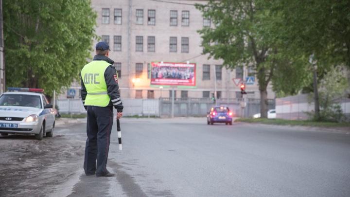 Все автоинспекторы Новосибирска целый день будут ловить пешеходов-нарушителей