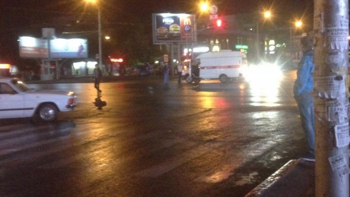 Авария в Уфе: водитель «Волги» не пропустил скорую