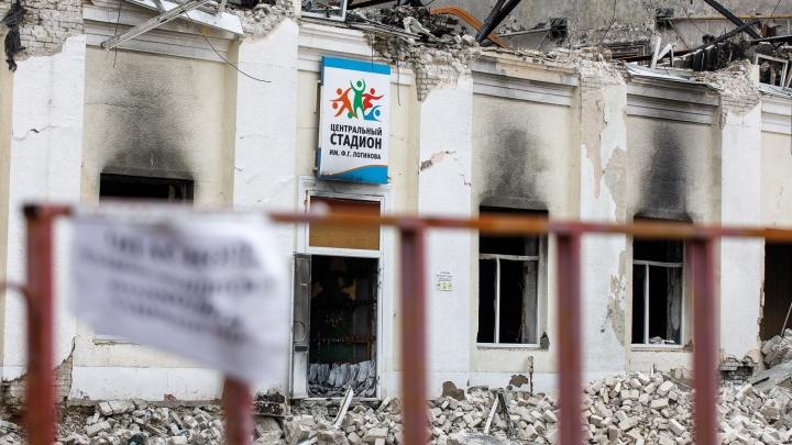 «Поместится большой спортзал»: спорткомплекс на месте пепелища построят в Волжском в следующем году