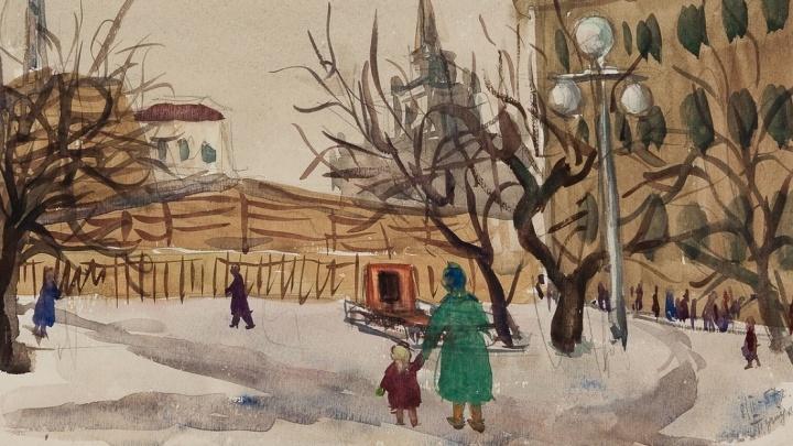 Они умели радоваться простому: волгоградцам покажут рисунки сталинградских детей из старого чемодана