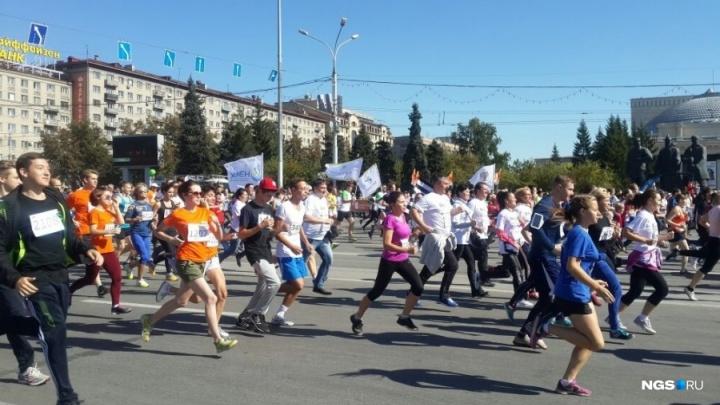 Одни бегут, другие стоят: карта перекрытий центра в день полумарафона Раевича