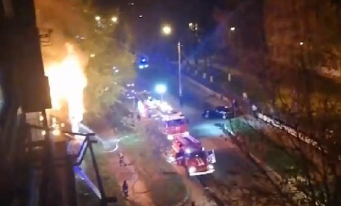 «Сгорело все!»: страшный пожар произошел в Московском районе — без жертв не обошлось
