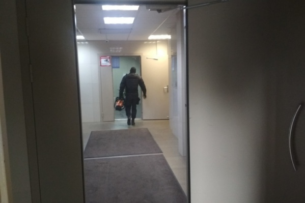 Обыск в квартире волонтёра начался около 9:00