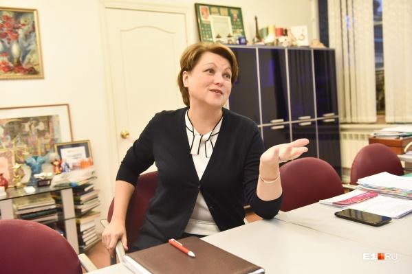 Руководитель департамента образования Екатеринбурга Екатерина Сибирцева