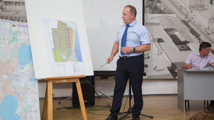 Проект президентского посёлка на берегу озера в Челябинске прошёл публичные слушания
