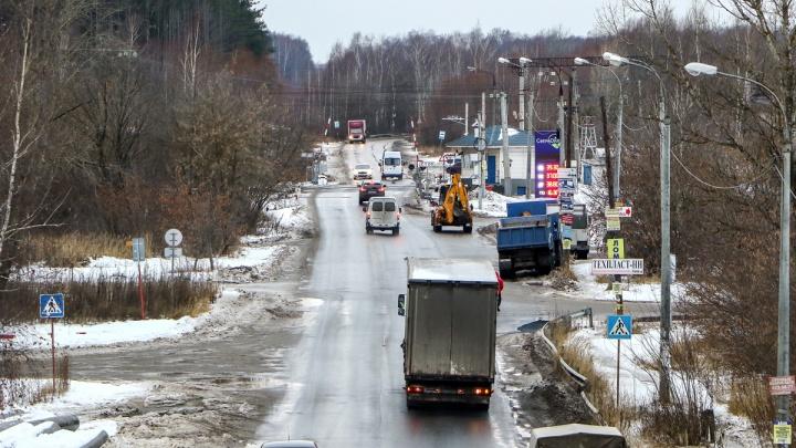 Строительство путепровода в районе Петряевки сдвинули на два года