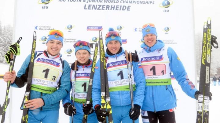 Свердловский биатлонист стал чемпионом мира среди юниоров в швейцарском Ленцерхайде