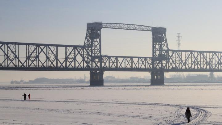 График закрытия железнодорожного моста в Архангельске решили оставить прежним