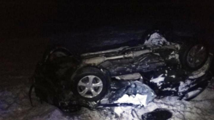 Пьяный бесправник устроил аварию на тюменской трассе. Пострадали трое