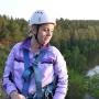 Это вам не фитнес: антипышка покоряет отвесные скалы