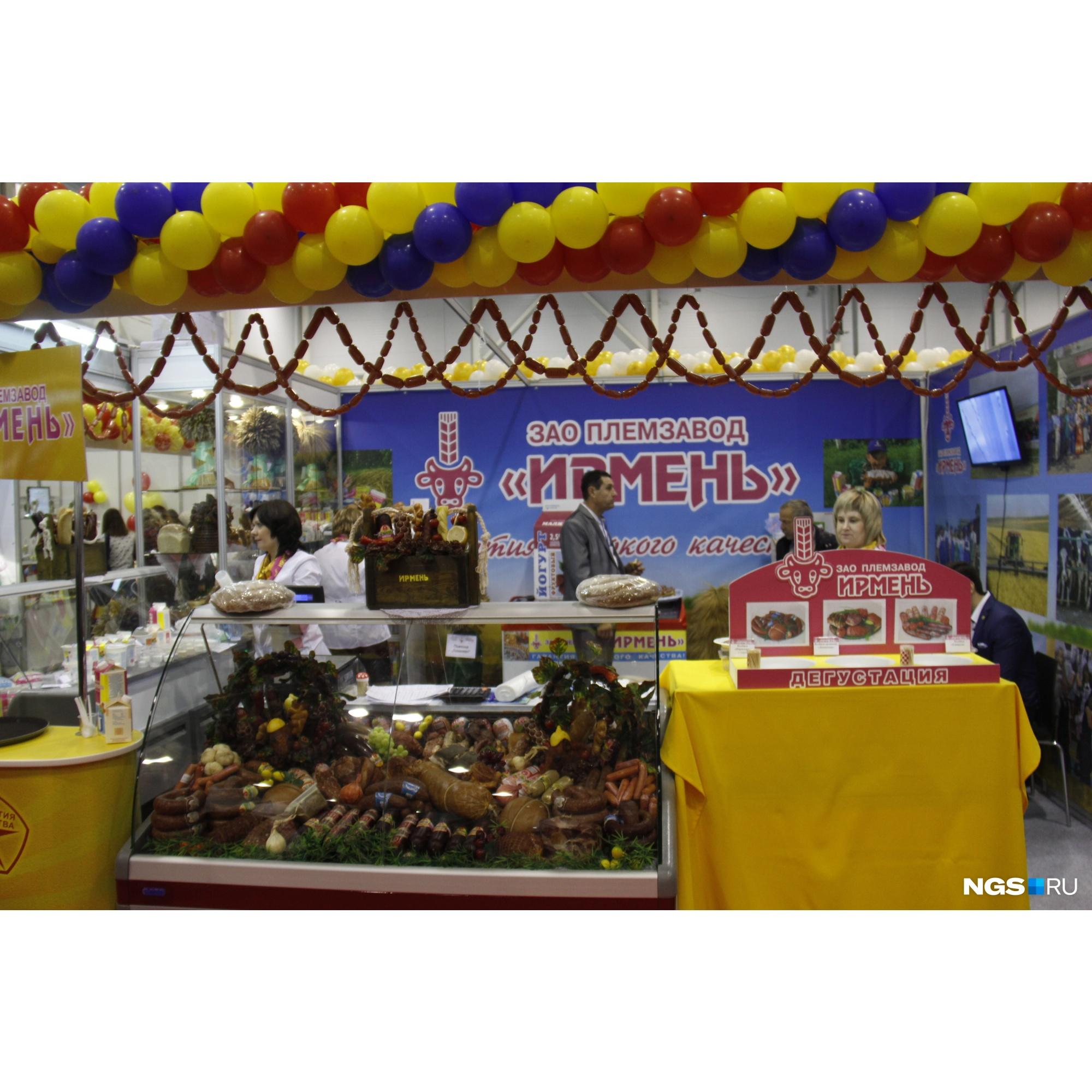 Руководительплемзавода «Ирмень» считает, что колбаса уже не является первым блюдом на праздничном столе