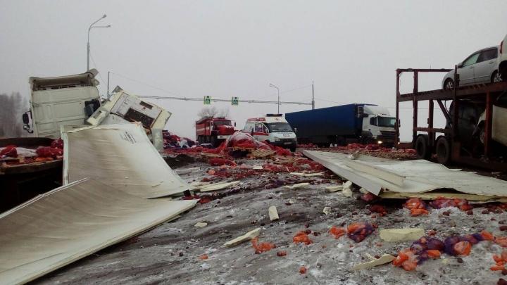У погибшего в аварии на трассе «Иртыш» в Зауралье остались жена и двое детей