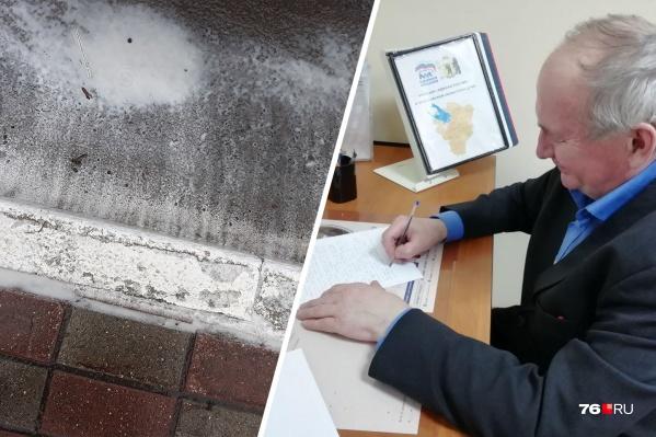 Просьбу Сергея Казанского отказаться от покраски бордюров обсудят депутаты муниципалитета