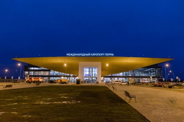 С весны все рейсы вылетают из нового терминала