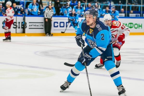 В этом сезоне 23-летний игрок сибирской команды Николай Демидов забросил шесть шайб в ворота соперников