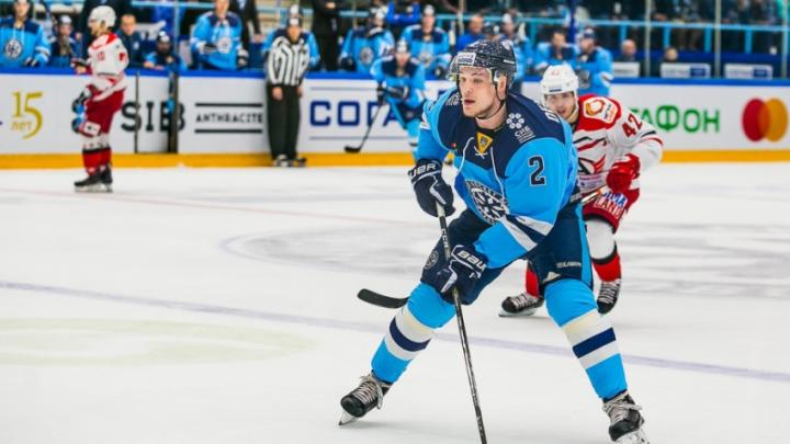 Защитника хоккейной «Сибири» вызвали в сборную России