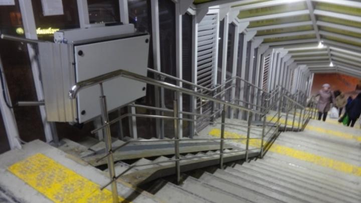 Чиновники ищут подрядчика, который оборудует лифтами за 59 миллионов проблемный переход на Гнаровской