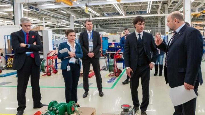 «Нравится, что увидел в Челябинске»: американцы уточнили срок сдачи второй очереди завода «Метран»