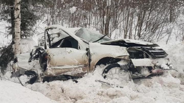 «Водитель был лишен прав»: полиция возбудила дело после смертельного ДТП на трассе Пермь — Березники