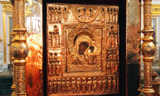 Чудотворная Казанская икона Божией Матери из деревни Рожново