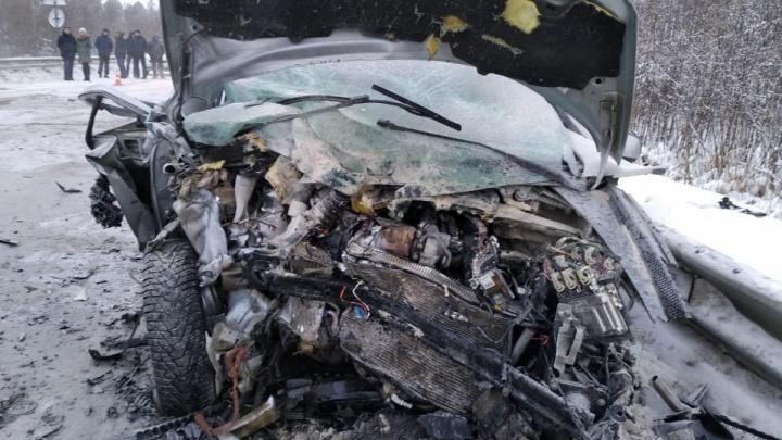 Девочку, которая чудом выжила в страшной аварии под Ивделем, сегодня выпишут из больницы