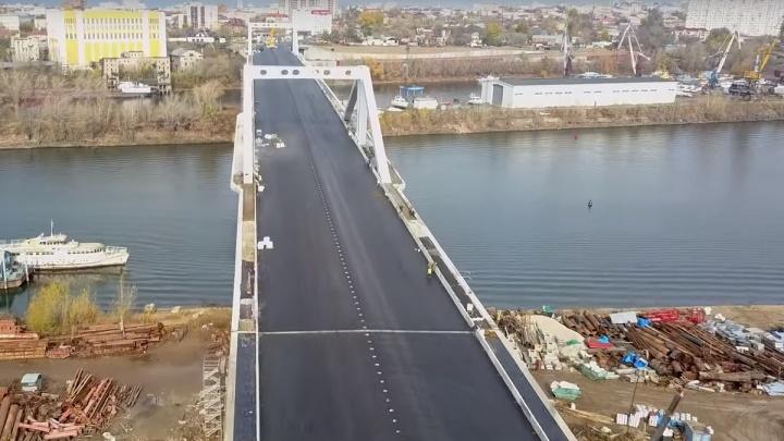 Всё ближе и ближе: самарский блогер показал Фрунзенский мост с высоты птичьего полёта
