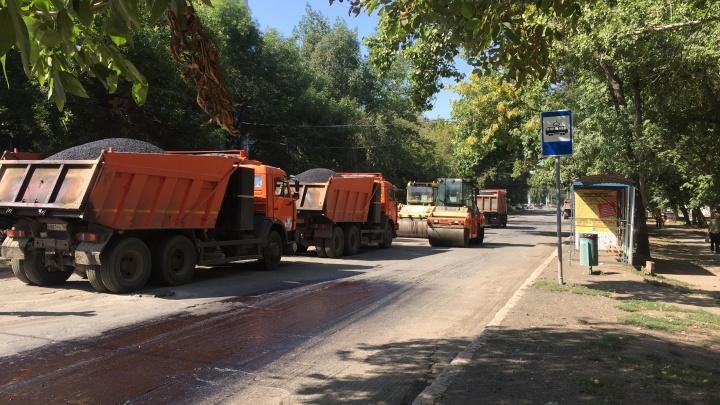 Ремонт Четвертого проезда у ТЦ «Русь» обещают завершить до конца недели